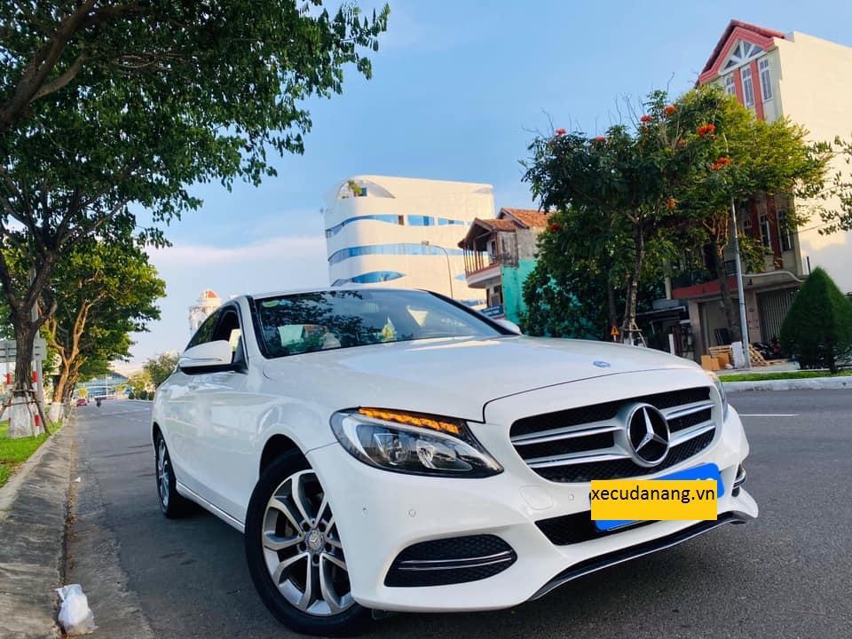 Mercedes C200 sx 2015 màu trắng còn rất đẹp và mới (07/21)